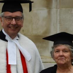 Read more at: Honorary MA Degree for Joan Winterkorn