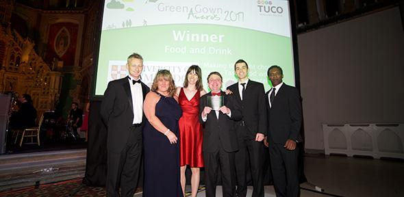 University of Cambridge wins two Green Gown Awards | For staff