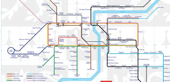 Tube Map is given some backbone | For staff